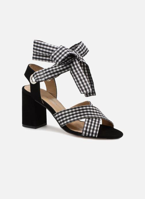 Sandales et nu-pieds Georgia Rose Savichy Noir vue détail/paire