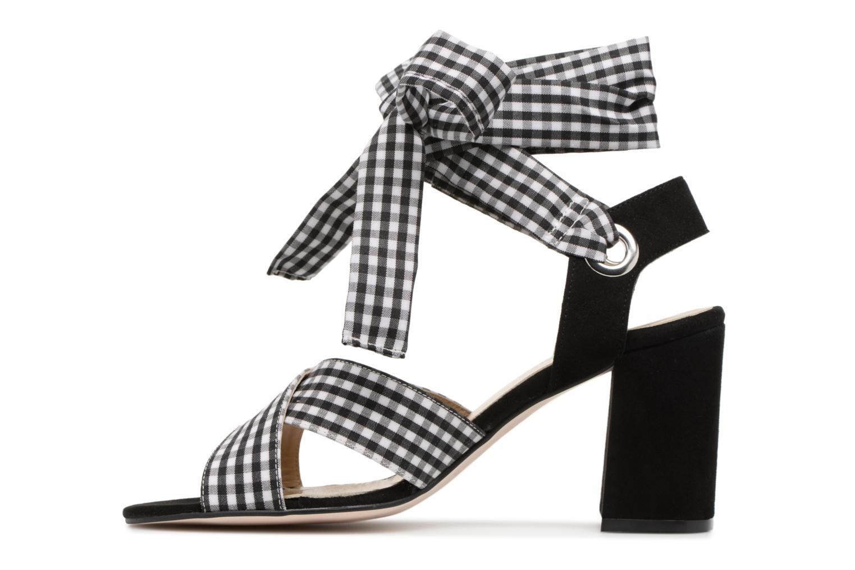 Sandales et nu-pieds Georgia Rose Savichy Noir vue face