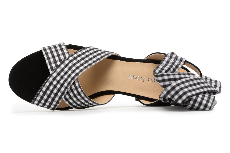 Sandales et nu-pieds Georgia Rose Savichy Noir vue gauche