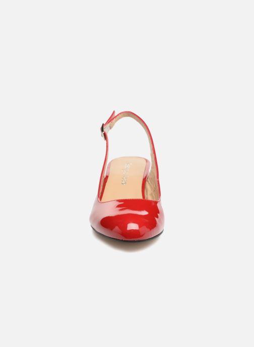 Escarpins Georgia Rose Solips Rouge vue portées chaussures
