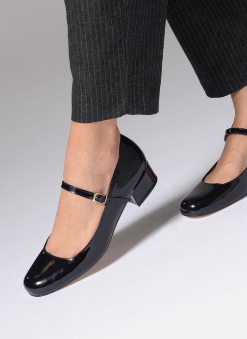 Zapatos de tacón Georgia Rose Socute Beige vista de abajo