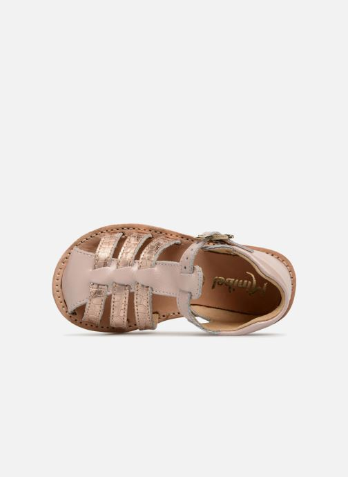 Sandali e scarpe aperte Minibel Kegepy Rosa immagine sinistra