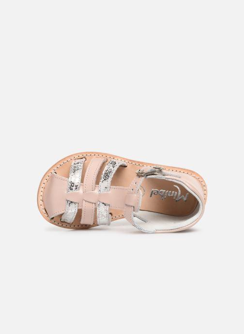 Sandales et nu-pieds Minibel Kegepy Beige vue gauche