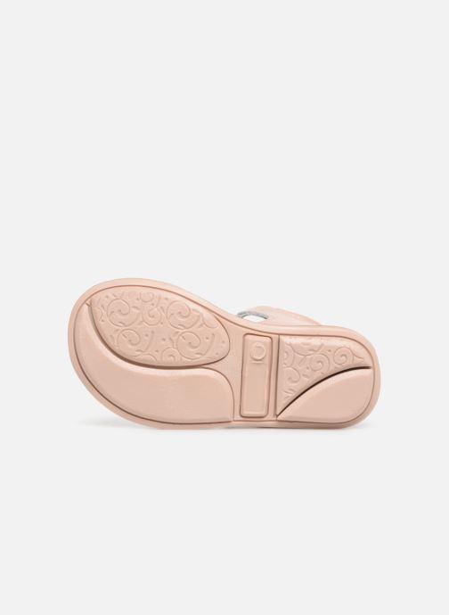 Sandales et nu-pieds Minibel Kegepy Beige vue haut