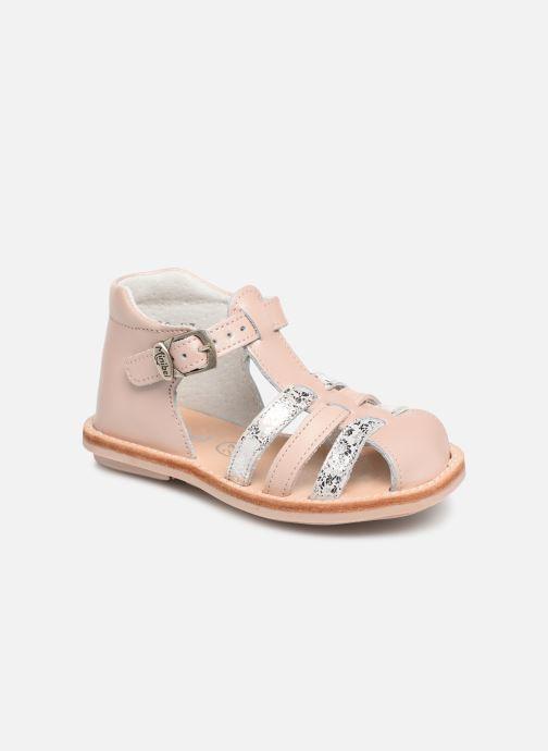 Sandales et nu-pieds Minibel Kegepy Beige vue détail/paire