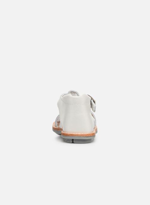 Sandales et nu-pieds Minibel Kegepy Blanc vue droite