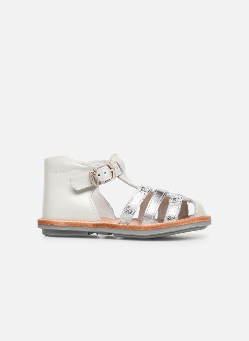 Sandales et nu-pieds Minibel Kegepy Blanc vue derrière