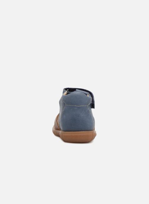 Sandali e scarpe aperte Minibel Pavie Azzurro immagine destra