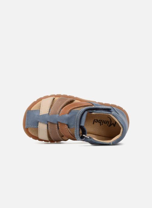 Sandali e scarpe aperte Minibel Pavie Azzurro immagine sinistra