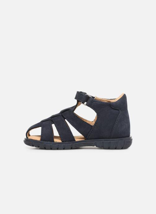 Sandales et nu-pieds Minibel Pavie Bleu vue face