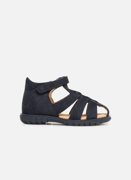 Sandalen Minibel Pavie Blauw achterkant