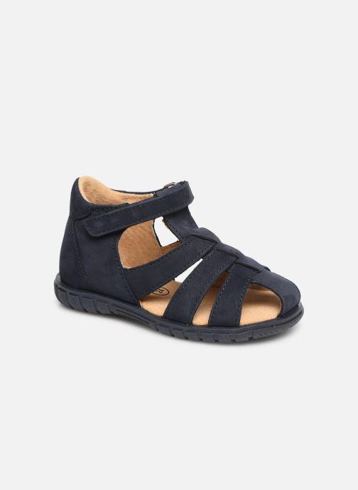 Sandalen Minibel Pavie Blauw detail