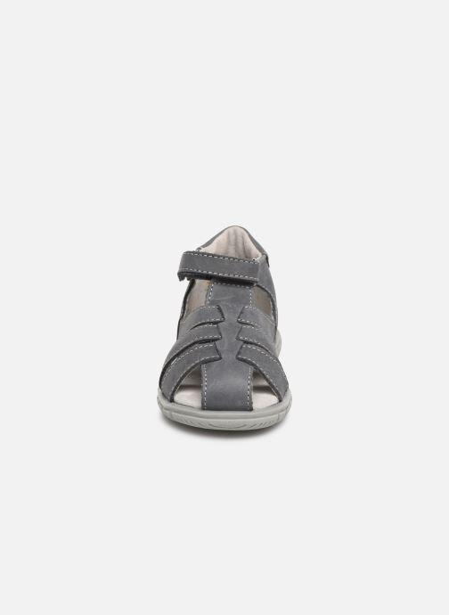 Sandali e scarpe aperte Minibel Pavie Grigio modello indossato