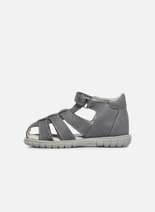Sandales et nu-pieds Minibel Pavie Gris vue face