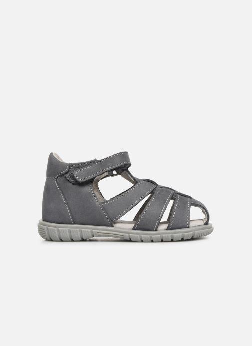 Sandales et nu-pieds Minibel Pavie Gris vue derrière
