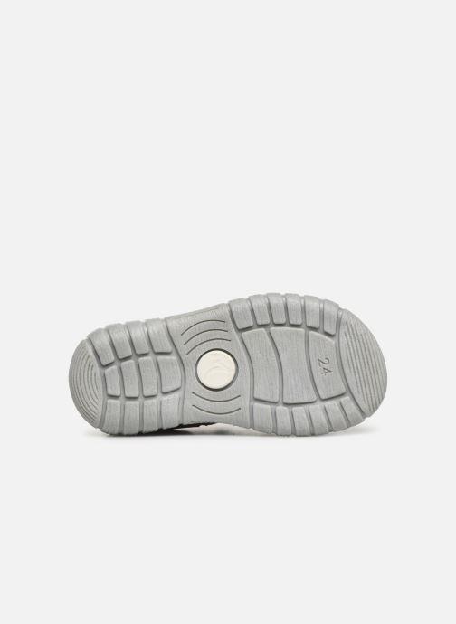 Sandales et nu-pieds Minibel Pavie Gris vue haut