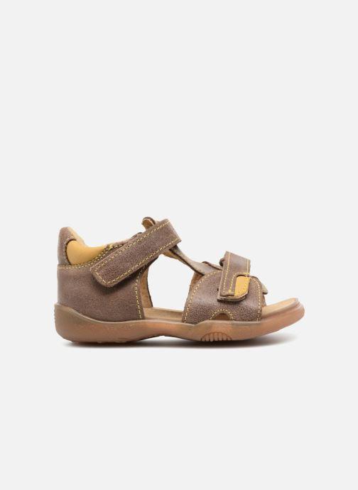Sandales et nu-pieds Minibel Pierrot Marron vue derrière