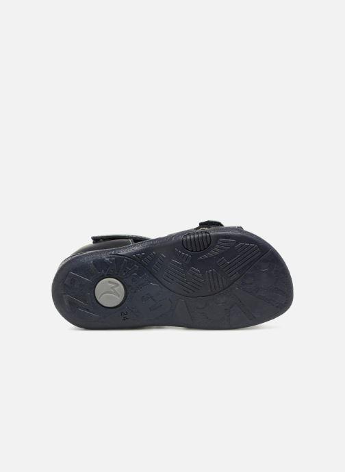 Sandales et nu-pieds Minibel Pierrot Bleu vue haut