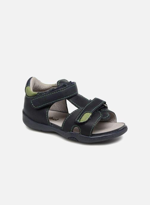 Sandales et nu-pieds Minibel Pierrot Bleu vue détail/paire