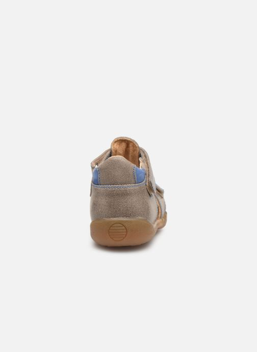 Sandals Minibel Pierrot Beige view from the right
