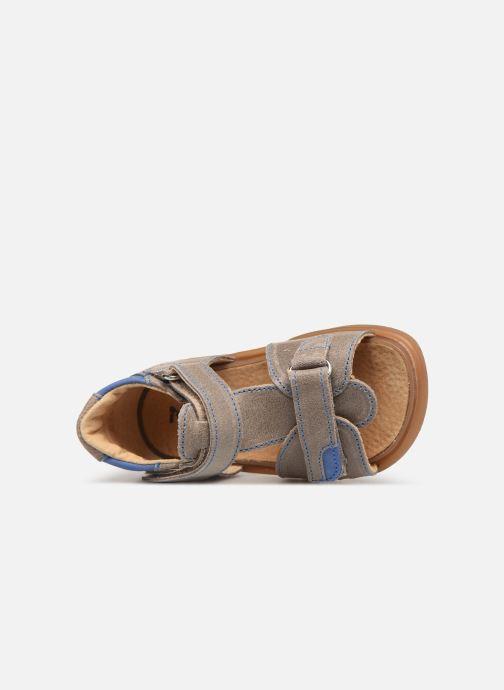 Sandals Minibel Pierrot Beige view from the left