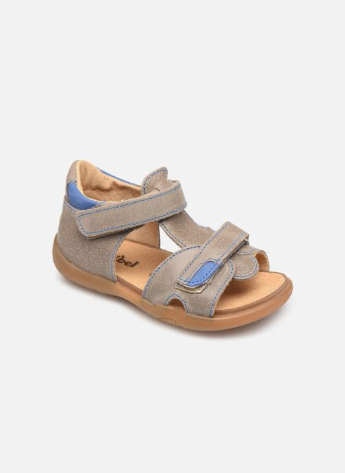 Sandals Minibel Pierrot Beige detailed view/ Pair view
