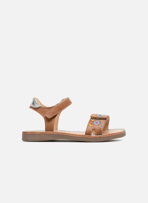 Sandales et nu-pieds Minibel Porquerol Marron vue derrière