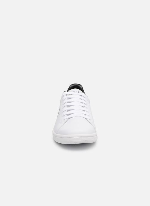 Fred Perry B721 Leather (Blanc) - Baskets chez  (320670)