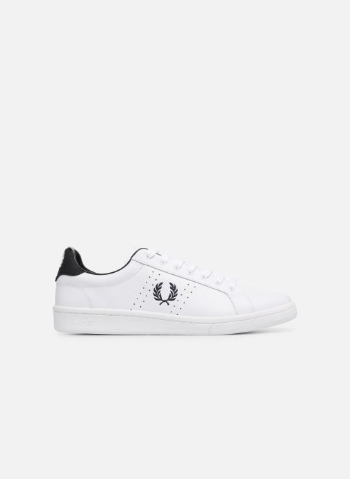 Baskets Fred Perry B721 Leather Blanc vue derrière