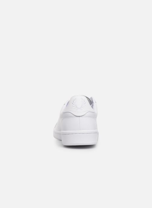 Baskets Fred Perry B721 Leather Blanc vue droite