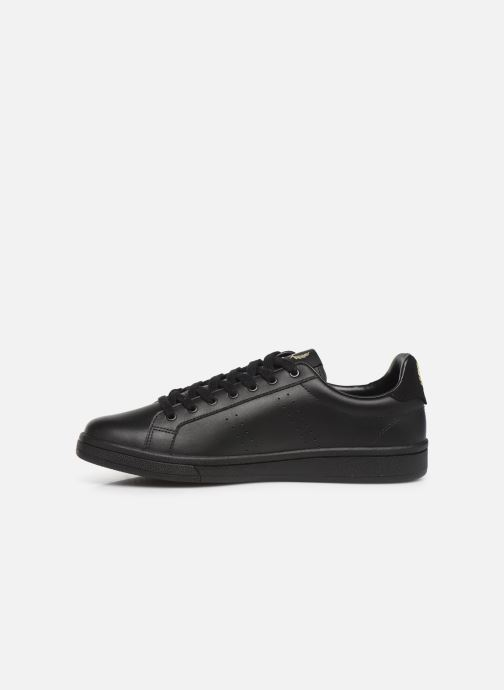 Baskets Fred Perry B721 Leather Noir vue face