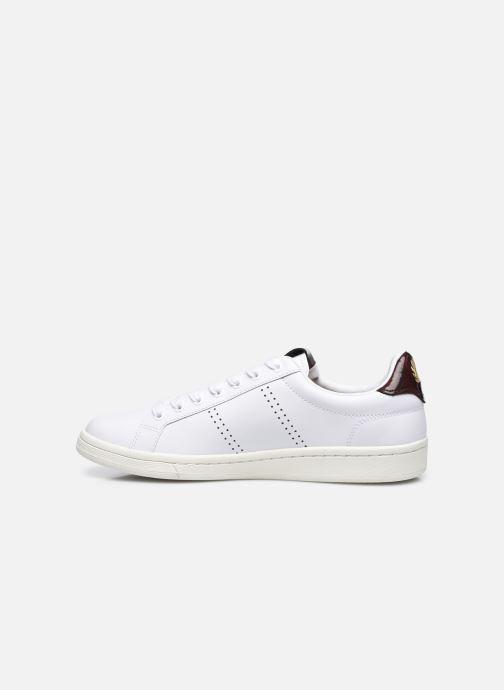 Sneaker Fred Perry B721 Leather weiß ansicht von vorne