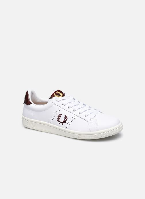 Sneaker Fred Perry B721 Leather weiß detaillierte ansicht/modell