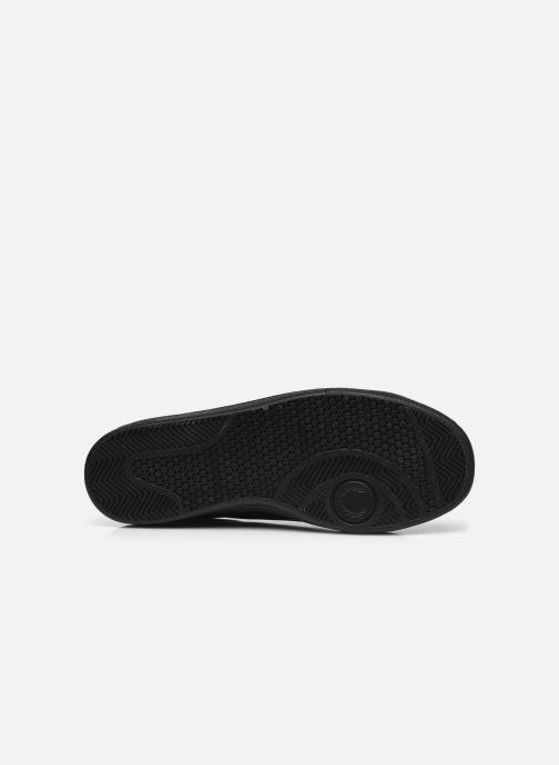 Sneaker Fred Perry B721 Leather schwarz ansicht von oben