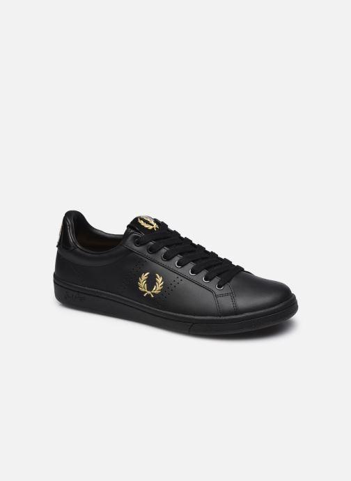 Sneaker Fred Perry B721 Leather schwarz detaillierte ansicht/modell
