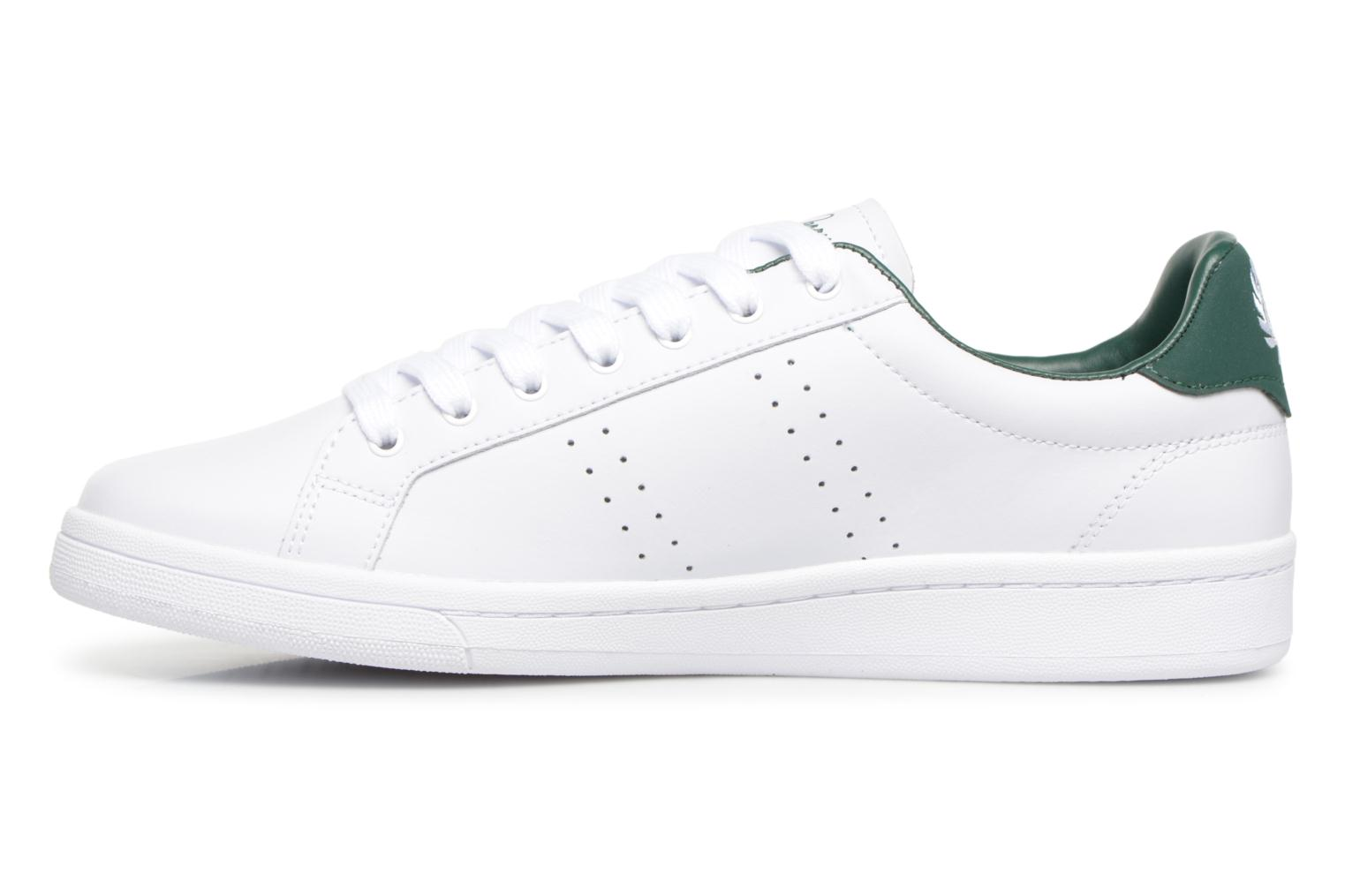 Baskets Fred Perry B721 Leather Blanc vue face