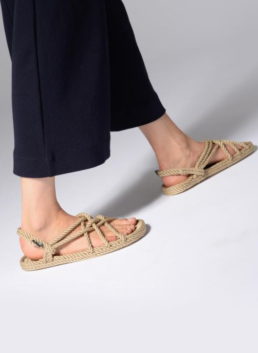 Sandales et nu-pieds Nomadic State of Mind JC sandals M Beige vue bas / vue portée sac
