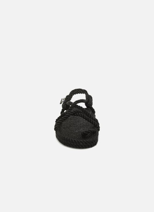 Sandales et nu-pieds Nomadic State of Mind Toe joe  W Noir vue portées chaussures
