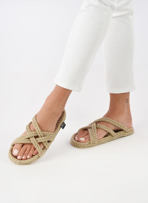 Sandales et nu-pieds Nomadic State of Mind Toe joe  W Beige vue bas / vue portée sac