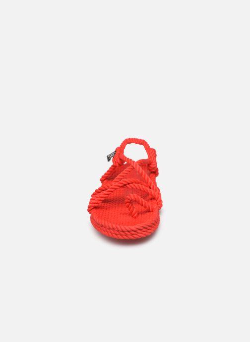 Sandales et nu-pieds Nomadic State of Mind Toe joe  W Rouge vue portées chaussures