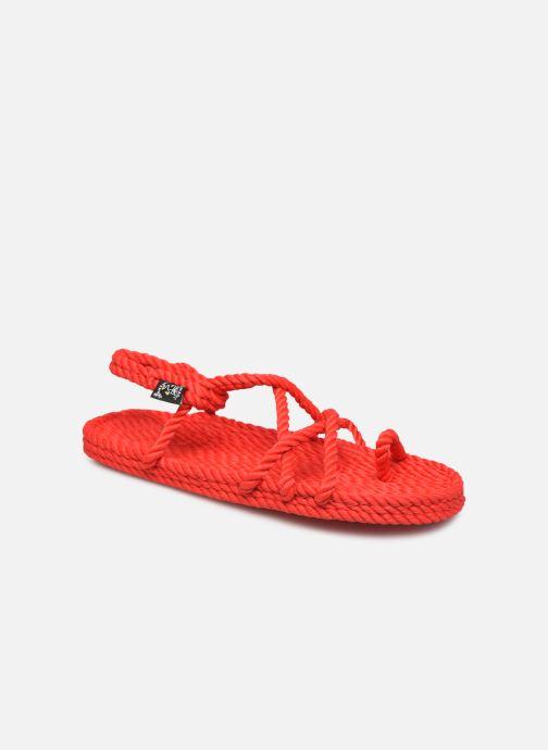 Sandales et nu-pieds Nomadic State of Mind Toe joe  W Rouge vue détail/paire