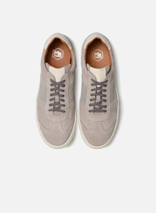 Baskets Mr SARENZA Rolger Gris vue portées chaussures