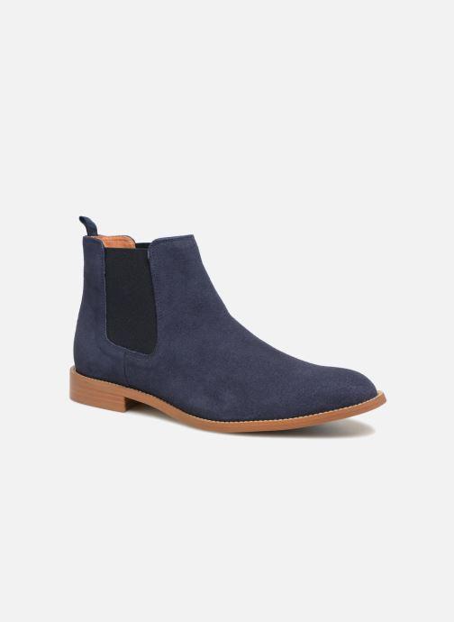 Bottines et boots Mr SARENZA Rilmot Bleu vue droite