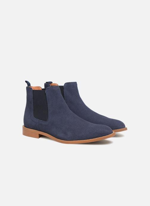Boots en enkellaarsjes Mr SARENZA Rilmot Blauw achterkant