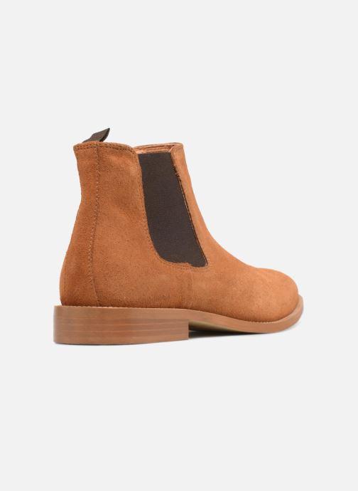 Boots en enkellaarsjes Mr SARENZA Rilmot Bruin voorkant
