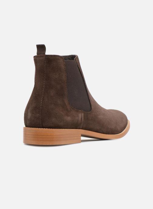 Bottines et boots Mr SARENZA Rilmot Marron vue face