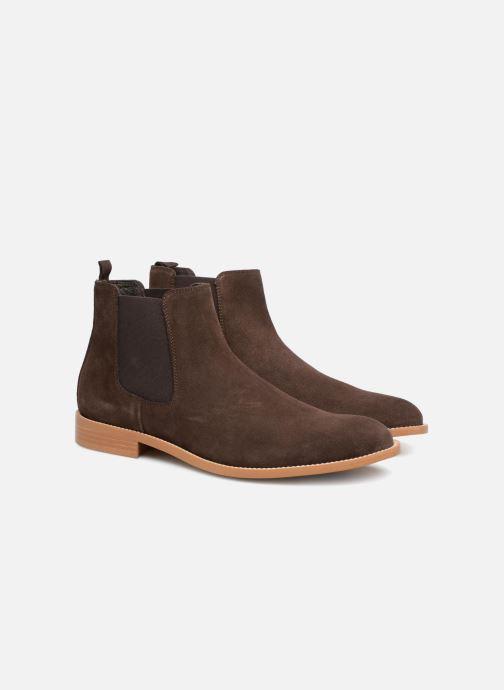 Boots en enkellaarsjes Mr SARENZA Rilmot Bruin achterkant