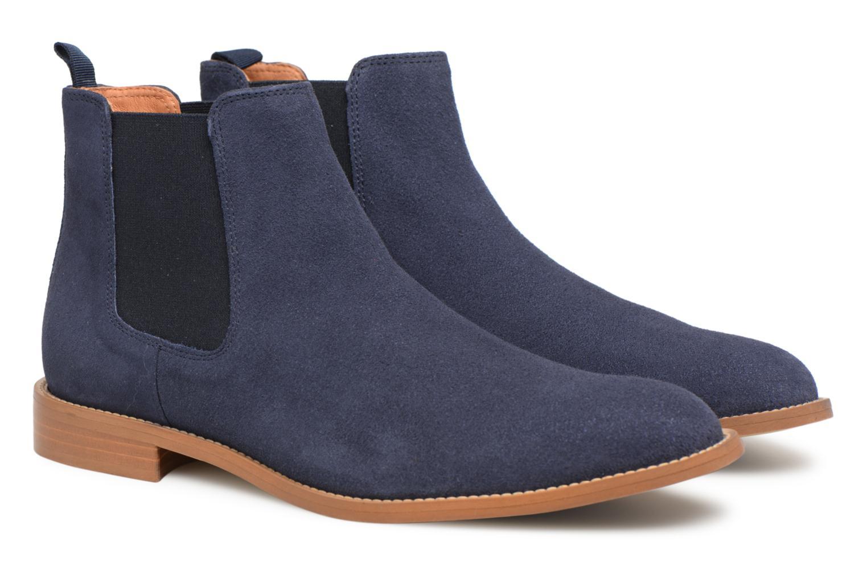 Bottines et boots Mr SARENZA Rilmot Bleu vue derrière