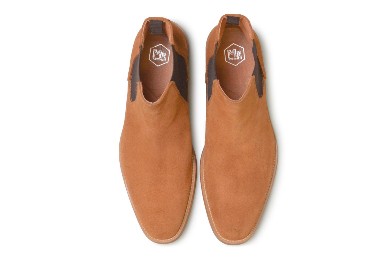 Ankle boots Mr SARENZA Rilmot Brown model view