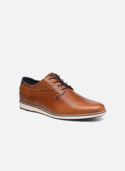 Zapatos con cordones Bullboxer THOMAS Marrón vista de detalle / par